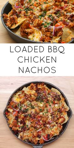 These nachos with chicken and cheese are amazing and super tasty, it will serve four but being so tasty it can easily serve one Making tacos is easy and straightforward Perfect as a snack or as a dinner, these will definitely make your taste buds d - p Chicken Nachos Recipe, Chicken Recipes, Appetizer Recipes, Dinner Recipes, Appetizers, Dinner Ideas, Nachos Mexicanos, I Love Food, Good Food