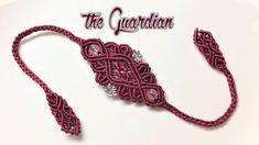 Macrame tutorial - how to make a Guardian bracelet -  Hướng dẫn thắt vòn...