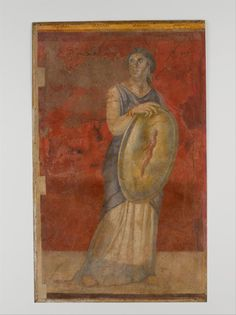 Dido of Carthage • didoofcarthage:  Wall painting from Room H of the...