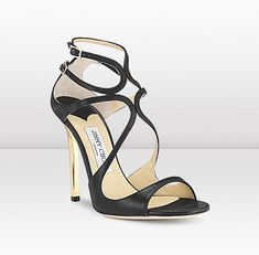 Jimmy Choo  Lance  For red carpet glamour, try LANCE in wetlook leather, featuring a 115mm metallic heel