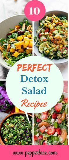 10 Perfect Detox Salad Recipes – PepperLace