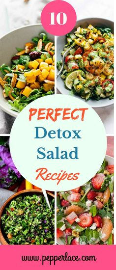 10 Perfect Detox Salad Recipes – PepperLace