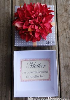 BLISSFUL ROOTS: DIY Mother's Day Gift Box