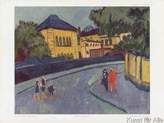 Ernst-Ludwig Kirchner - Dresden (Friedrichstadt 1909)