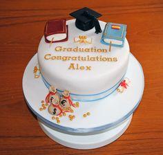Exeter University graduation cake.