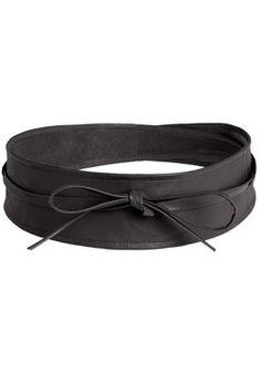 Sash Samba Belt in Black, #ModCloth