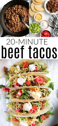 Ground Beef Tacos Recipe Ground Beef Tacos Recipe,FOOD FOOD FOOD Ground Beef Tacos Recipe There are images of the best DIY designs in the world. Mexican Food Recipes, Beef Recipes, Ethnic Recipes, Taco Recipe Beef, Easy Taco Recipe, Easy Recipes, Chicken Recipes, Dinner Recipes, Healthy Recipes