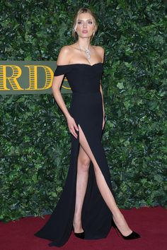 Style inspiration from Lily Donaldson at the Evening Standard Theatre Awards 2016