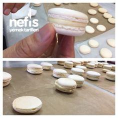 Macarons Making with Chef's Tricks Source by MutluReyyanF Next Previous How to make Rice Salad? Tricks of the recipe, a…Macarons Cake Recipe Kitchen Decor Healthy Eating Tips, Healthy Nutrition, Chess Cake, How To Make Macarons, Making Macarons, Cupcakes, Vegetable Drinks, Beautiful Cakes, Tricks