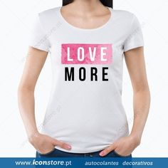 T-shirt Love more (Mulher)