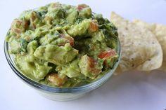Guacamole. I love you avocados.