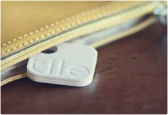 Tile trackers... Attach to things in purse and find via GPS. Lord, do I need this.