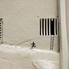 Urban Art Blog // September Vol 2 - Mr Pilgrim Street Artists Online #oakoak #urbanart #art #graffiti #streetart jd