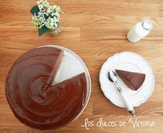 Nutella Cheesecake o Tarta de Queso de Nutella {Sin horno} Cupcakes, Nutella, Icing, Pudding, Chocolate, Desserts, Recipes, Food, Fondant Cakes