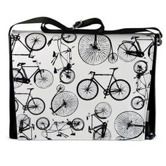 Bicycles Messenger Bag, $54, now featured on Fab.  For Cousin Betty