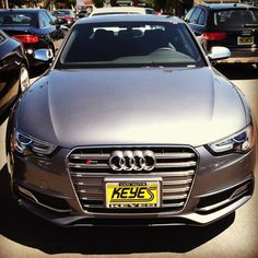 Who needs 50 shades of grey, when all you need is one. 2013 Audi S5 Prestige www.KeyesAudi.com