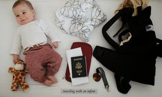 9 Tips For Traveling With A Baby (wish I would have known this the first time I flew with an infant!)