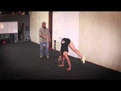 The Proper Straddle Press Handstand Technique - YouTube