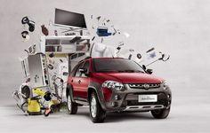 Campaign for Palio Adventure 2013 New Fiat, Car Prints, Studios, Creative Photoshop, Car Posters, Car Camera, Social Media Design, Ad Design, Advertising Design
