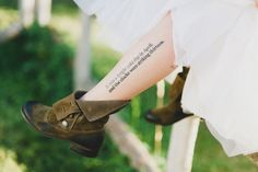 Tatuagens literárias <3