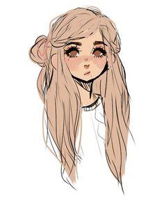 Cute Art Styles, Cartoon Art Styles, Cartoon Drawings, Cool Drawings, Dibujos Cute, Kawaii Art, Character Drawing, Pretty Art, Anime Art Girl