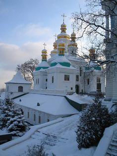 Kiev Monastery of the Caves, historic Orthodox Christian monastery in Kiev, Ukraine