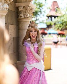 Disneyland Princess, Disney Princess Dresses, Disneyland Parks, Princess Aurora, Disney Princesses, Disney Girls, Disney Love, Disney Style, Sleeping Beauty Characters