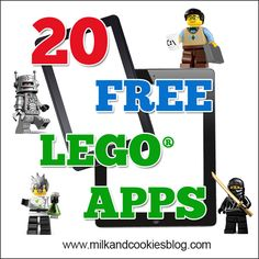 20 Free LEGO® Apps and Games