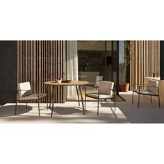 Vint collection inspiration. #chair #industrialdesign #table #productdesign #chairdesign #furniture #outdoorfurniture #chairdecor  #gardenfurniture  #terracefurniture #furnituredesign #archiproducts #architonic #porch #interiordesign