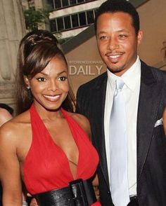 """""""#FlashbackFriday: Terrence Howard and Janet Jackson attend the CFDA Awards at the New York Public Library 