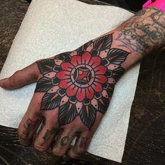 Tom Flanagan as featured on Swallows & Daggers. www.swallowsndaggers.com #tattoo #tattoos #mandala