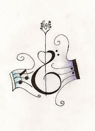 beautiful guitar tattoo - Google Search