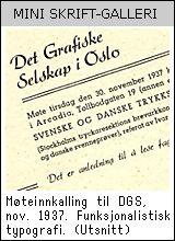 Norwegian typography history