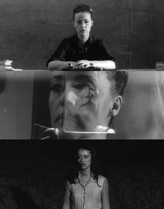"Jeanne Moreau in ""Mademoiselle"" (1966, dir. Tony Richardson, screenplay by Marguerite Duras, based on story by Jean Genet)"