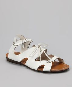 Love this Bumper White Lory-48 Sandal by Bumper on #zulily! #zulilyfinds