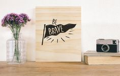 Be Brave rustic wooden sign. nursery wall decor kids room home decor rustic sign print art quote inspirational children's room wooden print Rustic Nursery Decor, Nursery Wall Decor, Rustic Decor, Rustic Signs, Wooden Signs, Nursery Signs, Kids Room Art, Wooden Wall Art, Rooms Home Decor
