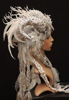 Ice Queen headdress for wedding