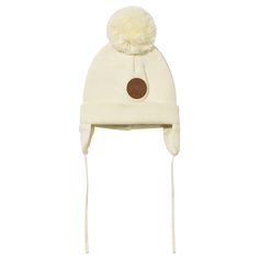 Keep little ears warm with this organic cotton beanie from Mini Rodini…