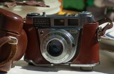 #camera #flea market #old device #photography #silver