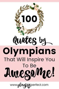 Quotes By Olympians Youll Love These 100 Olympic Quotes By Olympians Simone Biles Quotes, Michael Phelps Quotes, Shaun White Quotes, Lindsey Vonn Quotes Olympic Inspiration From The Winter Olympics And Summer Olympics Free Olympic Games Printable Pack Michael Phelps Quotes, Best Inspirational Quotes, Motivational Quotes, Positive Affirmations, Positive Quotes, Monday Motivation, Motivation Goals, Development Quotes, Simone Biles