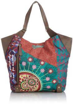 Desigual Shopping Annelise Shoulder Bag,Scarlet Red,One Size Desigual,http://www.amazon.com/dp/B00HSMRBN2/ref=cm_sw_r_pi_dp_.qGttb07N1QD5XSA