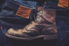 Men's Distressed Boots!