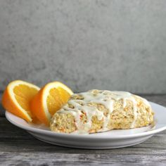 Brighten your morning with these orange carrot scones.