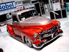 Sweet 1954 Chevy Custom Pick Upe..Re-pin..Brought to you by #CarInsurance #EugeneOregon and #HouseofInsurance
