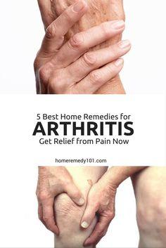 5 Best Home Remedies for Arthritis: Get Relief from Pain Now Natural Remedies For Arthritis, Natural Health Remedies, Natural Cures, Health Day, Health Tips, Health And Wellness, Health Recipes, Arthritis Pain Relief, Rheumatoid Arthritis