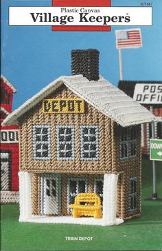 Village Keepers Plastic Canvas Pattern  by KnitKnacksCreations