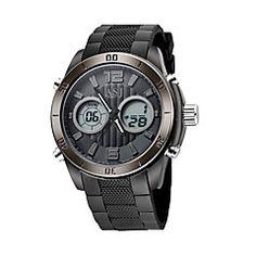 Men's+Sport+Watch+Digital+/+Japanese+QuartzLCD+/+Compass+/+Calendar+/+Water+Resistant/Water+Proof+/+Dual+Time+Zones+/+Luminous+/+–+USD+$+24.99