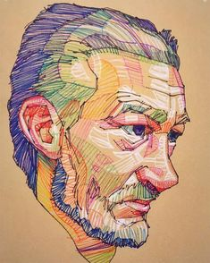 Prismatic Portraits by Lui Ferreyra Form a Collision of Geometry and Color   Colossal