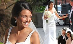 Michelle Keegan is a bride once more while filming Our Girl wedding