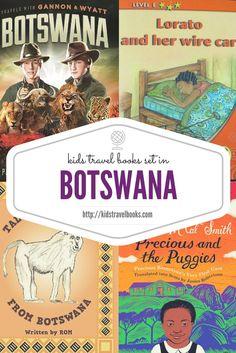 Kids Travel Books Botswana